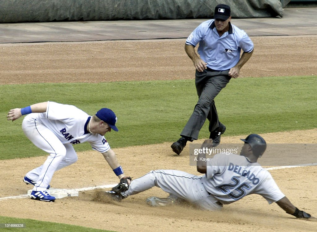 Texas Rangers vs Toronto Blue Jays - September 12, 2004.