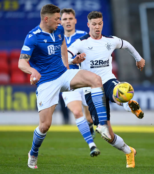 GBR: St Johnstone v Rangers - Ladbrokes Scottish Premiership