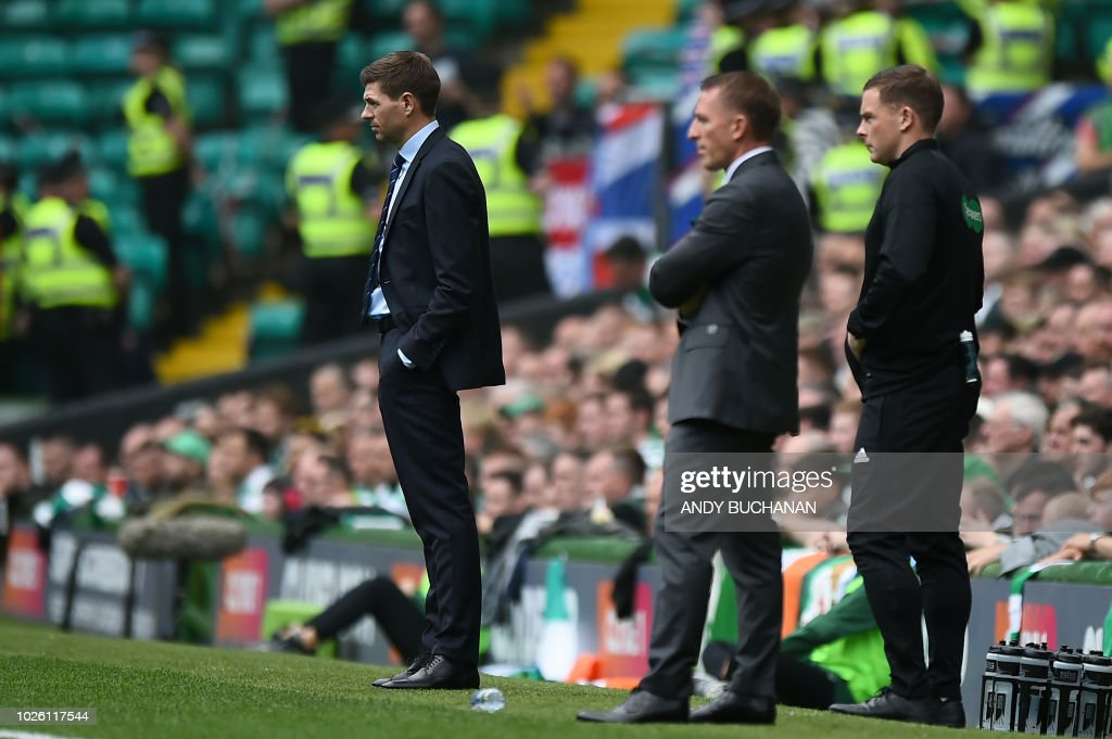 FBL-SCO-CELTIC-RANGERS : News Photo
