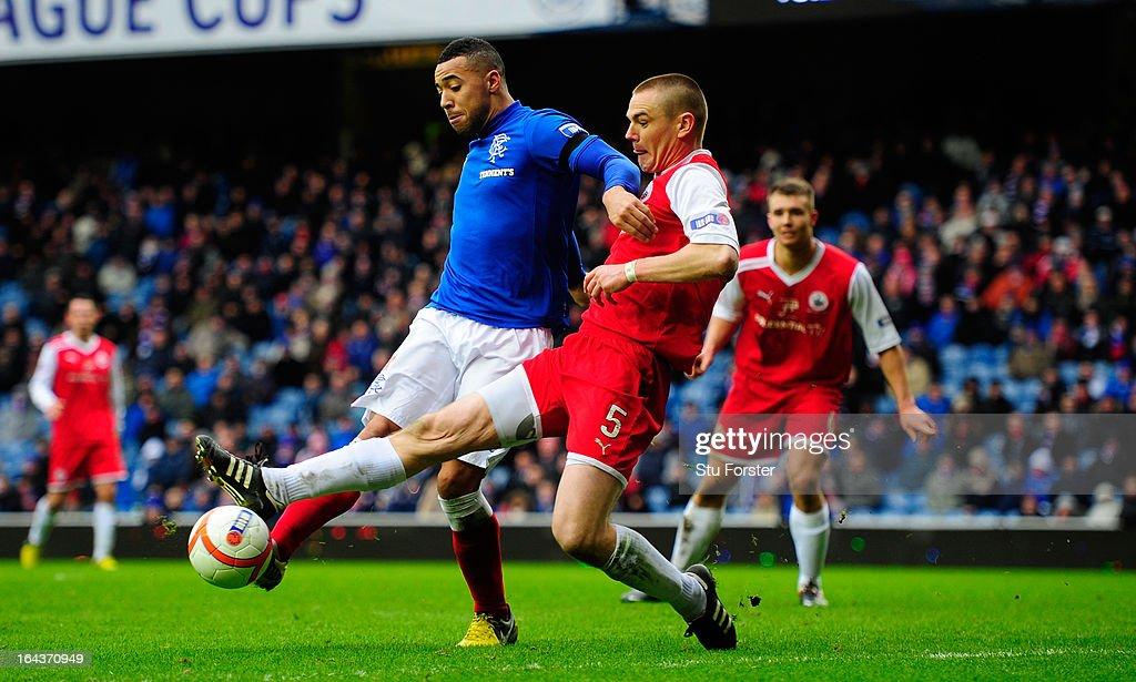 Rangers v Stirling Albion - IRN-BRU Scottish Third Division : News Photo
