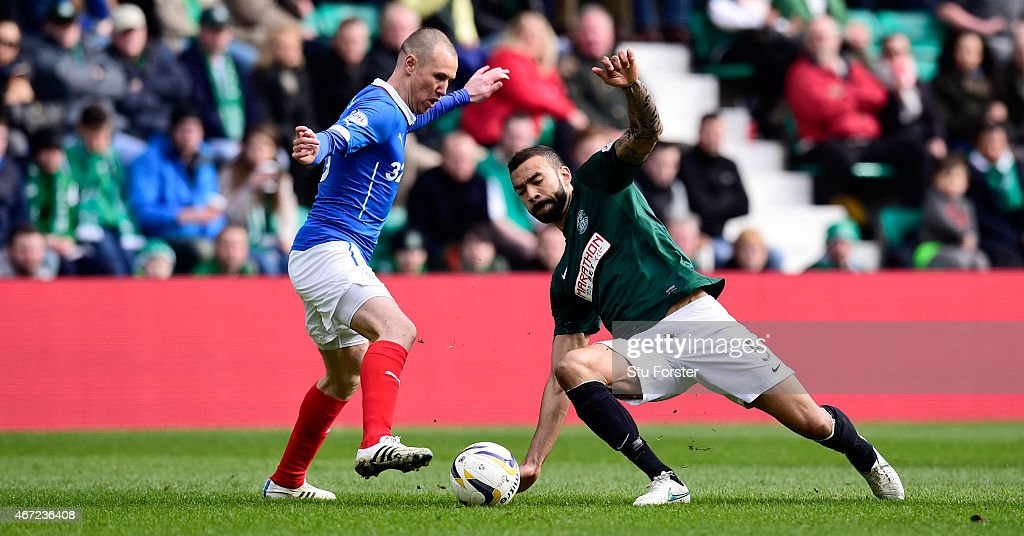 Hibernian v Rangers - Scottish Championship : News Photo