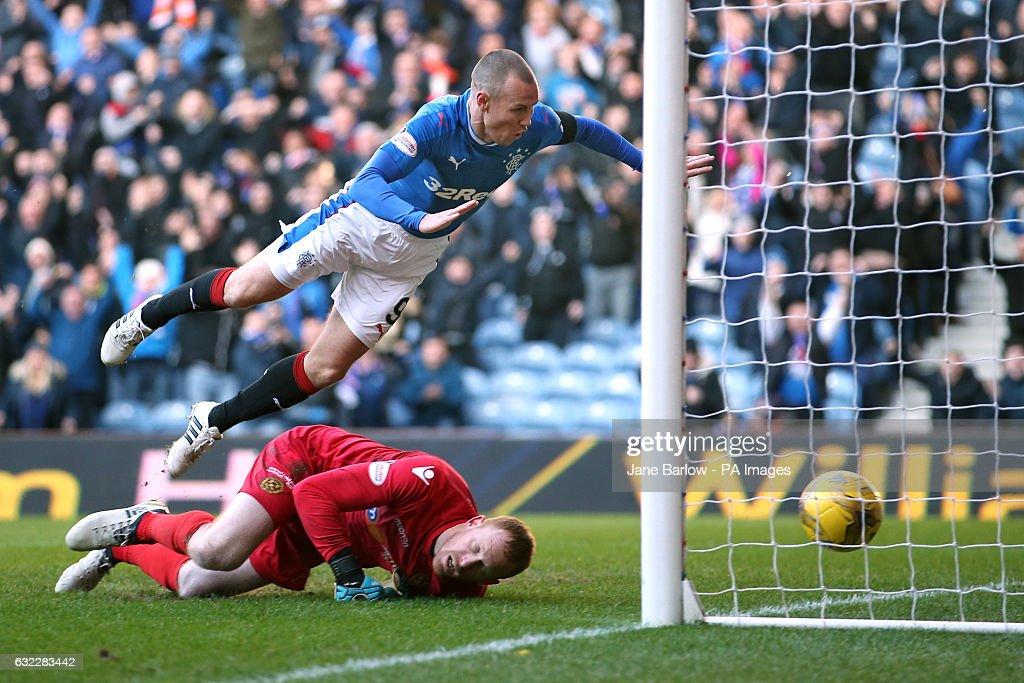 Rangers v Motherwell - Ladbrokes Scottish Premiership - Ibrox Stadium : News Photo