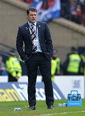 glasgow scotland rangers manager graeme murty