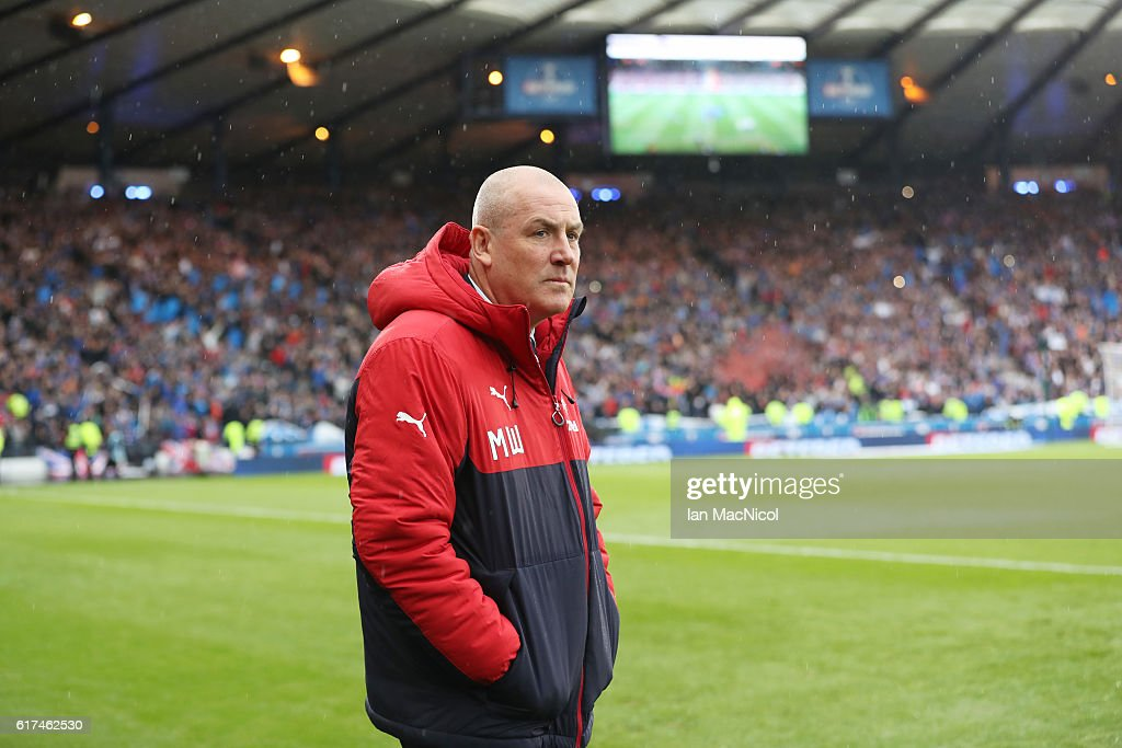 Rangers v Celtic - Betfred Cup Semi Final : News Photo