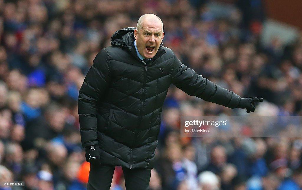 Rangers v St Mirren - Scottish Championship : News Photo