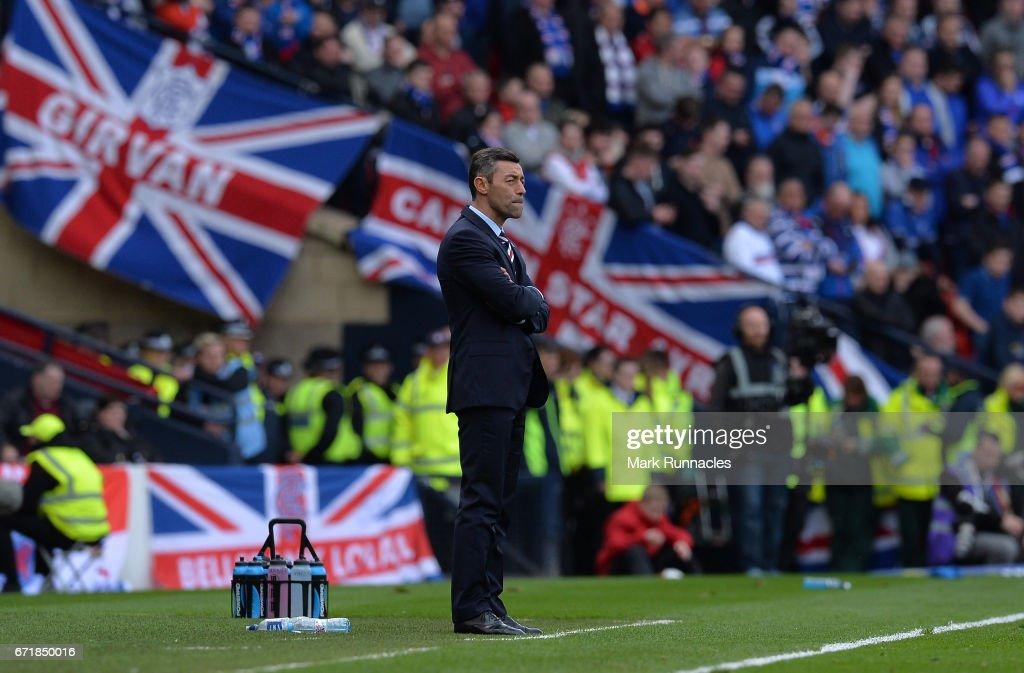 Celtic v Rangers - Scottish Cup Semi-Final : News Photo