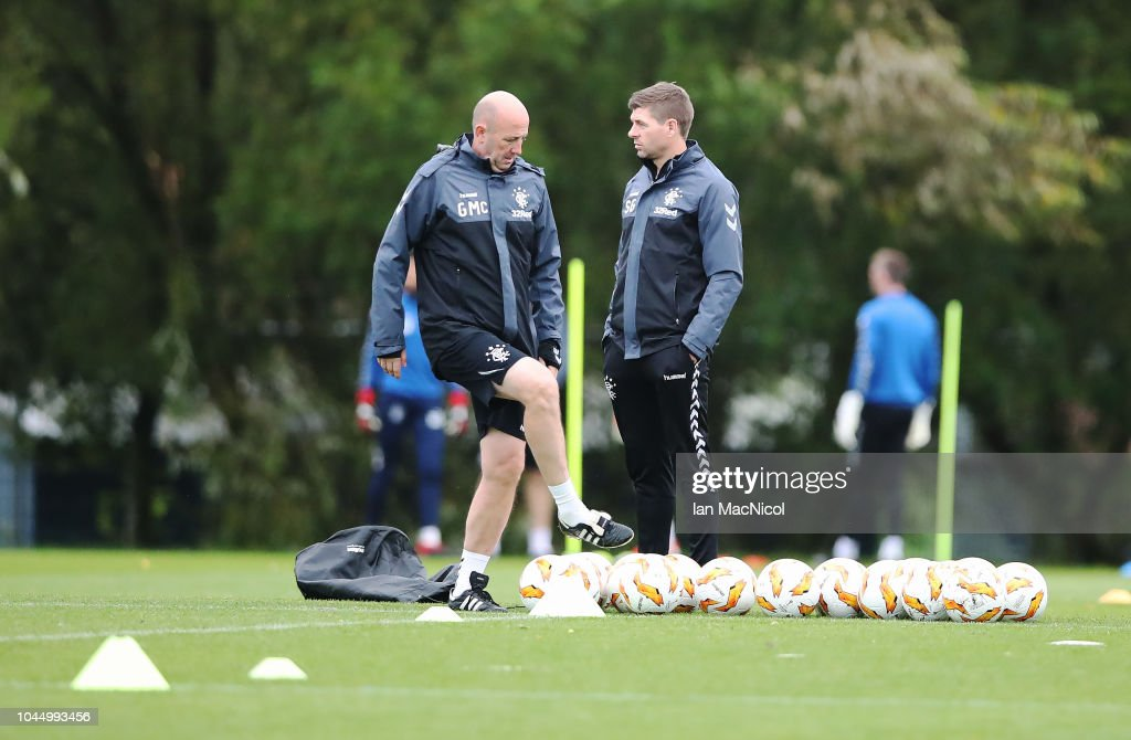 Rangers Training Session : News Photo