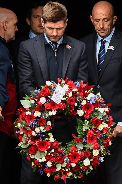 GBR: Tributes To Walter Smith Continue At Ibrox Stadium