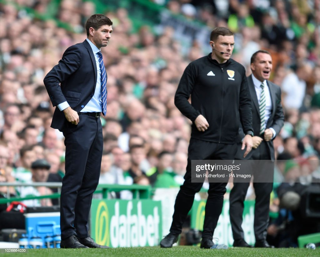 Celtic v Rangers - Ladbrokes Scottish Premiership - Celtic Park : News Photo