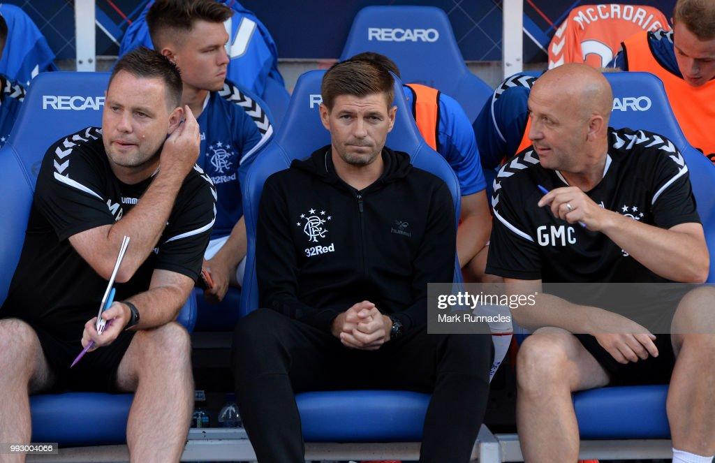 Rangers v Bury - Pre-Season Friendly : News Photo