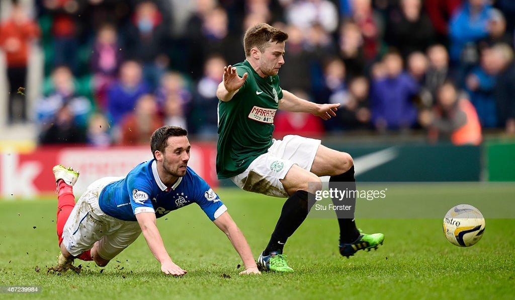 Hibernian v Rangers - Scottish Championship