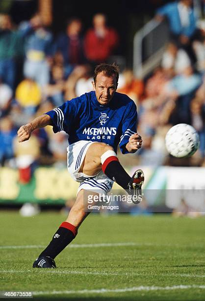 Rangers player Trevor Steven in action during a pre season friendly to Scandinavia in July 1995