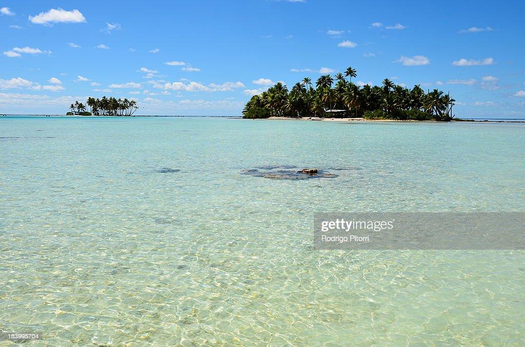 Rangiroa - Blue Lagoon : Foto de stock