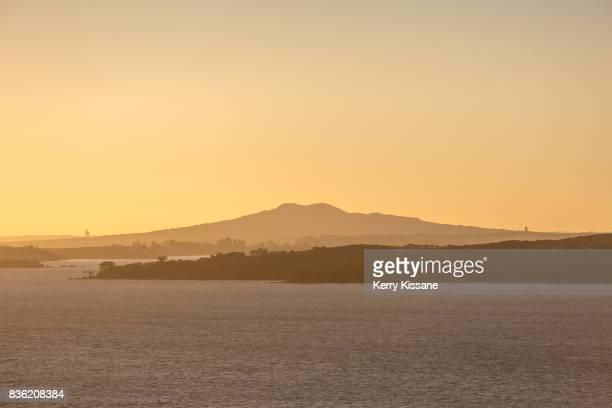 Rangitoto Island at Sunset