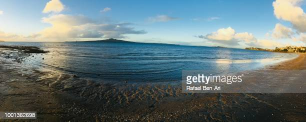 rangitoto island auckland new zealand - rafael ben ari stock pictures, royalty-free photos & images