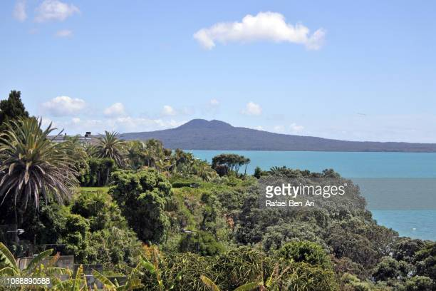 Rangitoto Island in Auckland New Zealand
