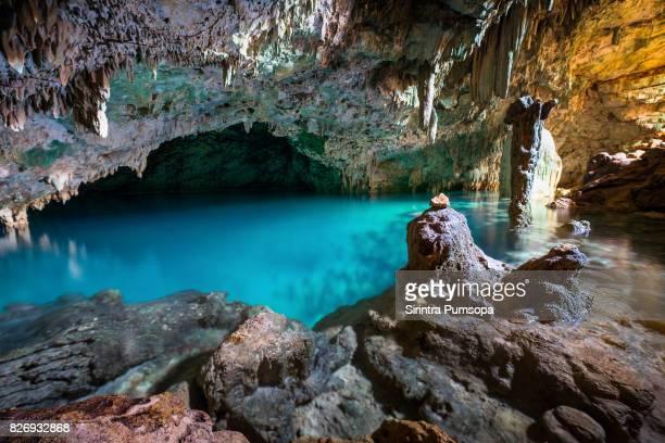 rangko cave in flores island, labuan bajo, indonesia - flores indonesia fotografías e imágenes de stock