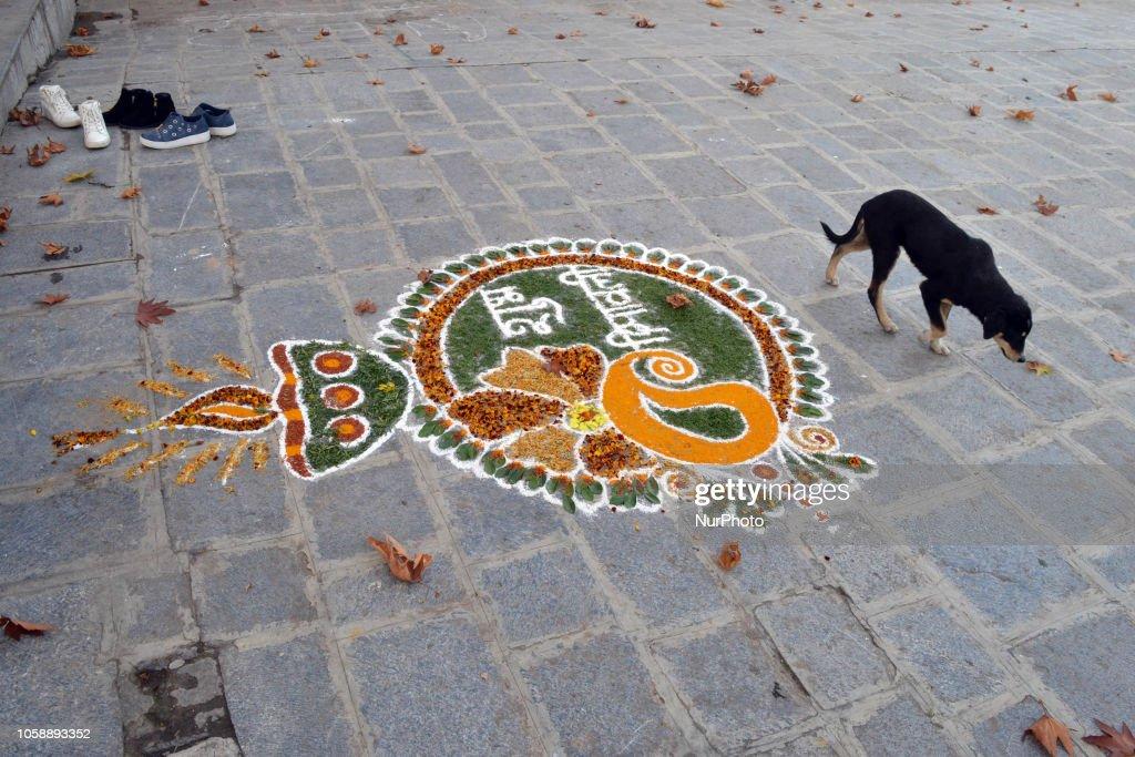 Diwali Celebrations In Kashmir : Nachrichtenfoto