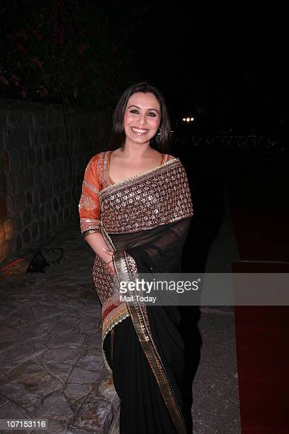 Rani Mukherjee at a charity function at the Italian embassy in New Delhi on November 20 2010