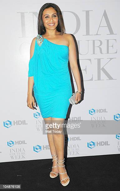 Rani Mukherjee at the HDIL Couture Week 2010 party in Mumbai on Tuesday October 5 2010