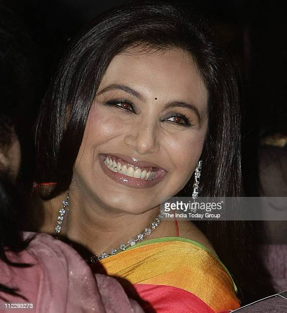 Rani Mukherjee at YFLO ZOYA Young Women Achievers Awards 201011' in the Capital on Friday April 15 2011