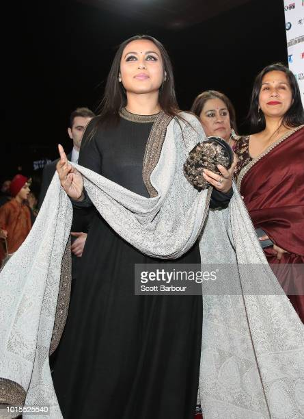 Rani Mukherjee attends the Westpac IFFM Awards Night 2018 at The Palais Theatre on August 12 2018 in Melbourne Australia