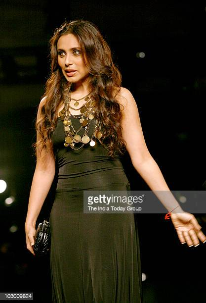 Rani Mukherjee during the Couture Week 2010 in New Delhi on July 20 2010