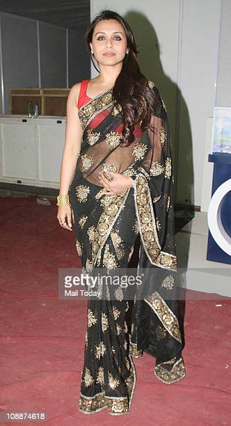 Rani Mukherjee during the Stardust Awards function in Mumbai on Sunday evening