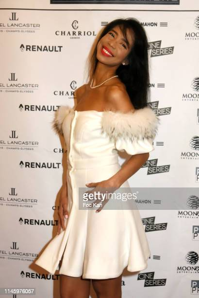 Vanessa Modely from UNESCO attend the 37th Romy Schneider And Patrick Dewaere Awards At Hotel Lancaster on April 29 2019 in Paris France