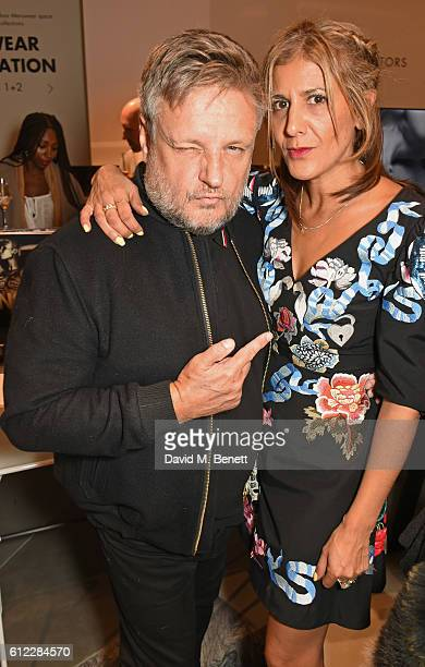 Rankin and Azzi Glasser attend the launch of 'SX Rankin' a new fragrance collaboration between photographer Rankin and fragrance designer Azzi...