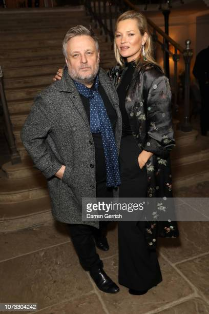 Rankin and Kate Moss attends Rankin Unfashionable 30 Years Of Fashion Photography hosted by Jefferson Hack Katie Grand Sharan Pasricha at Ennismore...