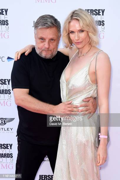 Rankin and Tuuli Shipster attend the 3rd Annual Jersey Style Awards in association with MMG at The Royal Jersey Showground on July 11 2019 in Trinity...