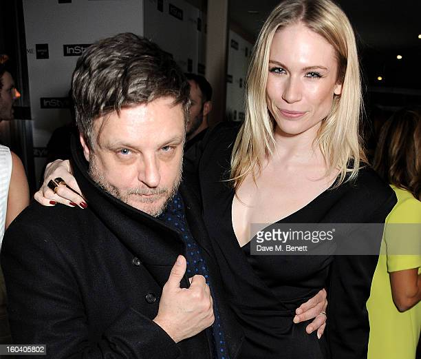 Rankin and Tuuli Shipster attend the InStyle Best Of British Talent party in association with Lancome and Avenue 32 at Shoreditch House on January 30...
