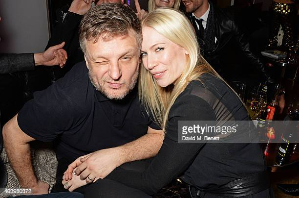 Rankin and Tuuli Shipster attend the launch of 'Hunger Magazine We've Got Issues' at W London Leicester Square on February 20 2015 in London England