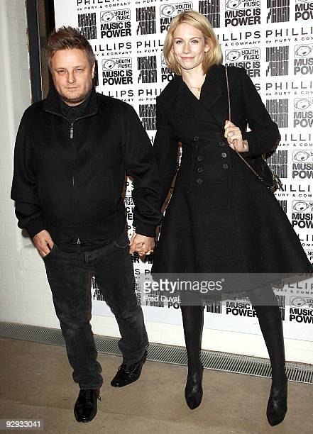 Rankin and wife Tuuli Shipster attend the private view of Destroy/ Rankin at Phillips de Pury And Company on November 9 2009 in London England