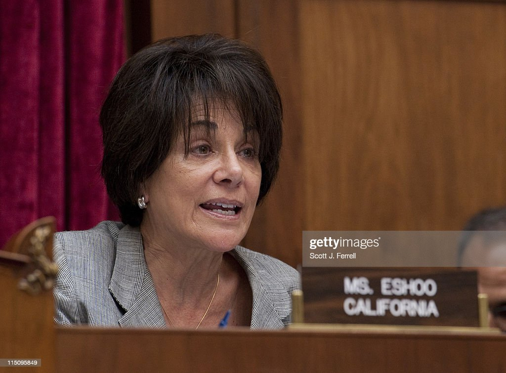 Attractive Ranking Member Anna G. Eshoo, D Calif., During The House Energy
