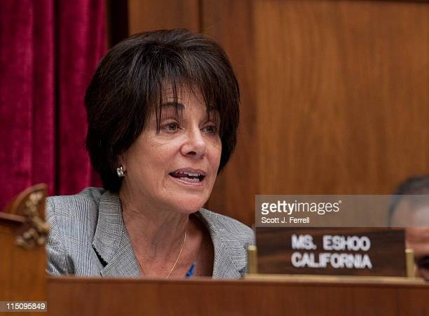 Ranking member Anna G Eshoo DCalif during the House Energy and Commerce Subcommittee on Communications and Technology hearing on commercial spectrum...