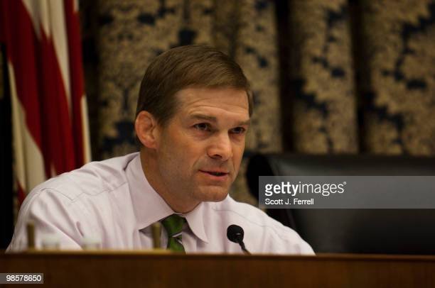 Ranking member Jim Jordan ROhio during the House Oversight and Government Reform Subcommittee on Domestic Policy hearig on federal loan guarantees...