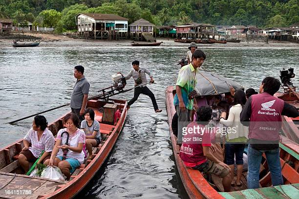 CONTENT] Ranong to Kawthaung is a very chaotic border crossing This image was taken on the thai side of the river close to Ranong city A lot of...