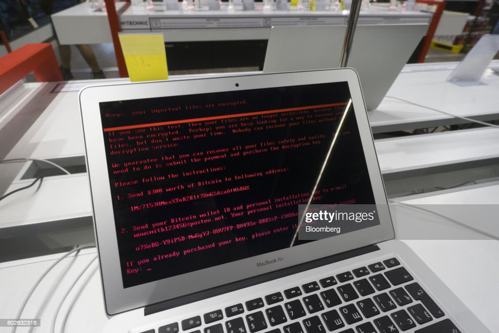 Cyberattack Hits Businesses, Port Operators And Government Systems : News Photo
