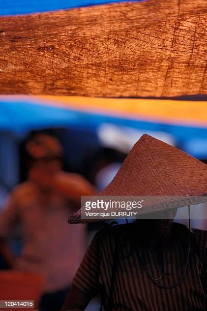 Rantepao market in Celebes Indonesia