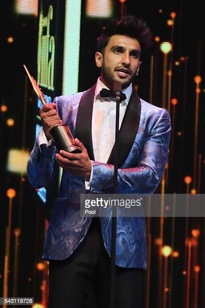 Ranveer Singh attends the 17th IIFA Awards ceremony at Ifema on June 25 2016 in Madrid Spain