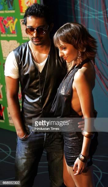 Ranvijay and Anusha Dandekar Launch of Spanking News MTV