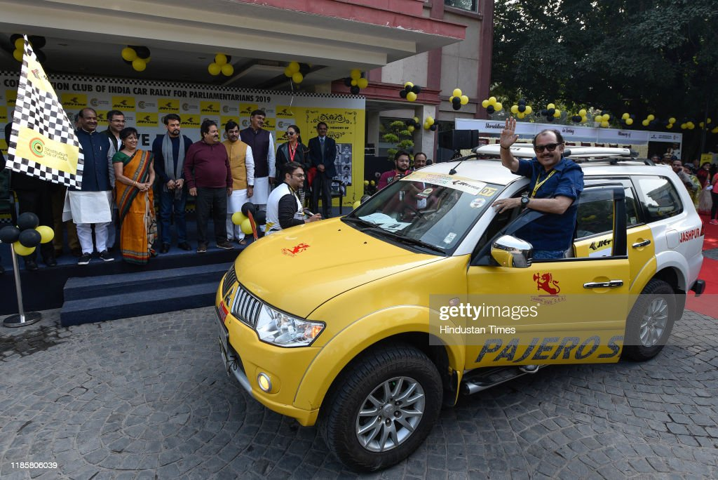 JK Tyre-Constitution Club Of India Rally 2019 To Raise Awareness About Road Safety : News Photo
