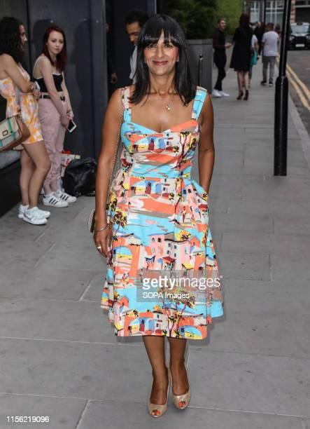 Ranvir Singh attending the ITV Summer Party 2019 at Nobu Shoreditch in London