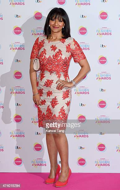 Ranvir Singh attends Lorraine's High Street Fashion Awards at Grand Connaught Rooms on May 19 2015 in London England
