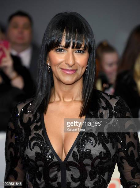 Ranvir Singh attends the National Television Awards 2020 at The O2 Arena on January 28 2020 in London England