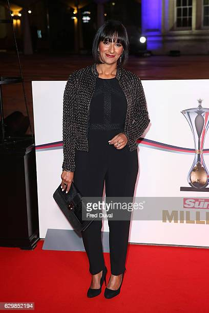 Ranvir Singh attends The Sun Military Awards at The Guildhall on December 14 2016 in London England
