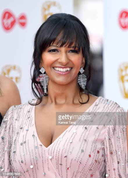 Ranvir Singh attends the Virgin Media British Academy Television Awards 2019 at The Royal Festival Hall on May 12 2019 in London England