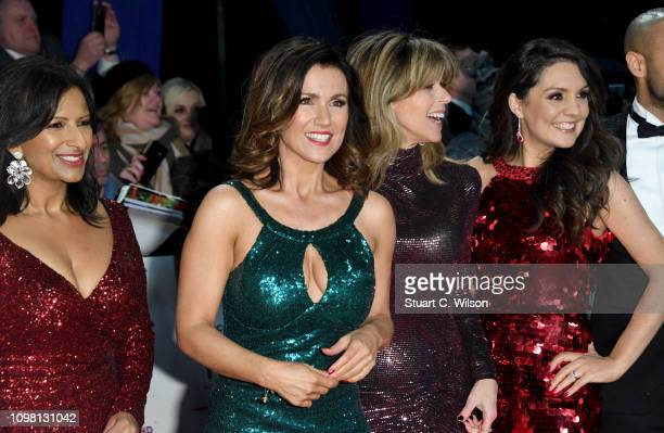 Ranvir Singh Susanna Reid Kate Garraway and Laura Tobin attend the National Television Awards held at the O2 Arena on January 22 2019 in London...